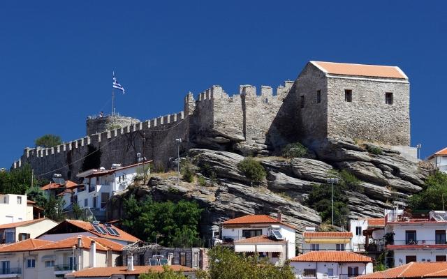 Castle in Kavala