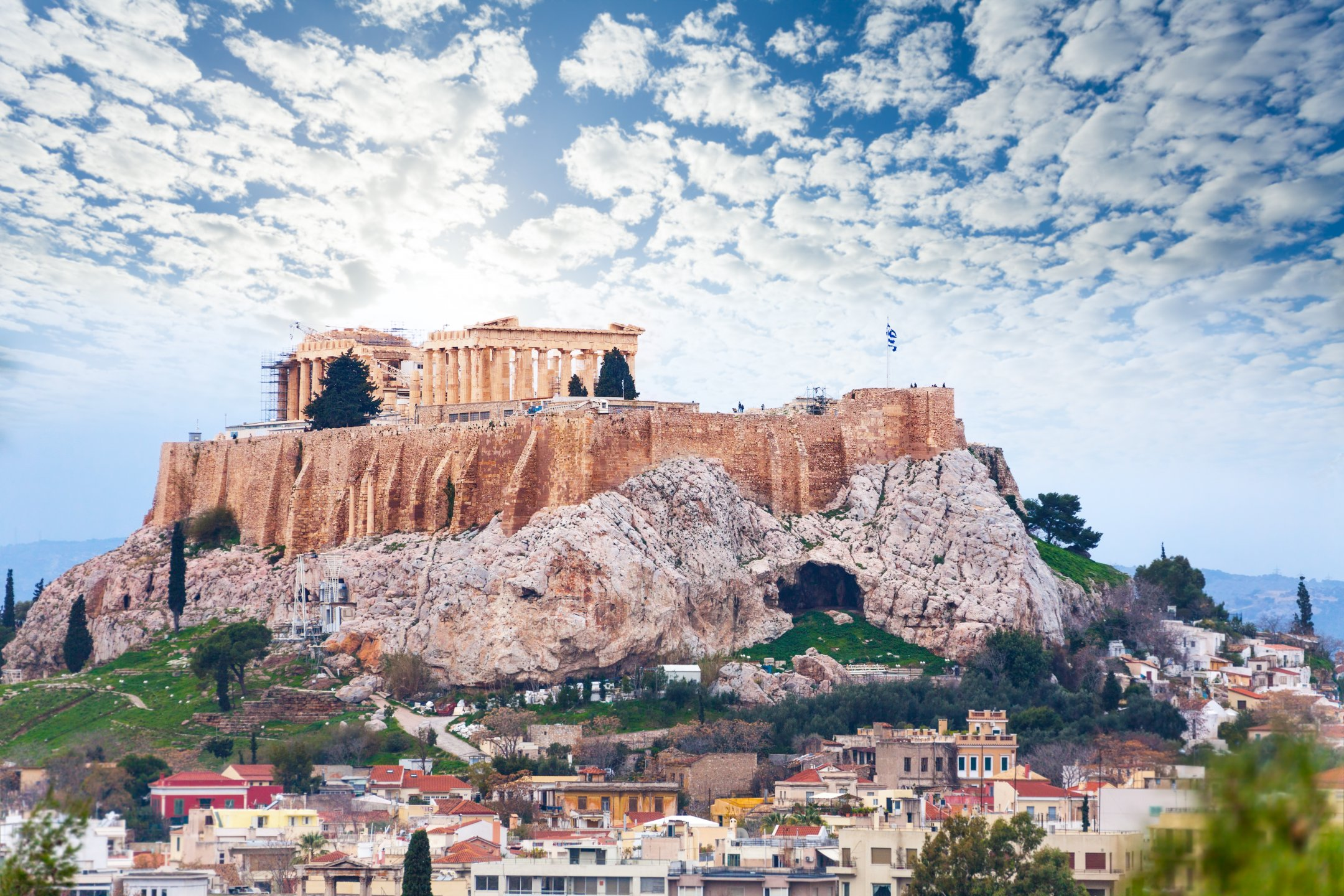 Parthenon of Acropolis in Athens, Greece