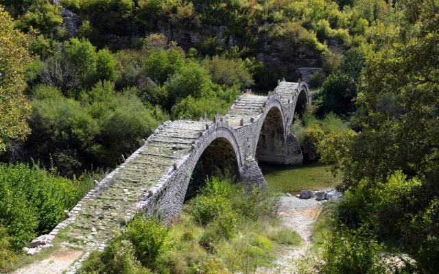 Zagorohoria near Ioannina in Greece