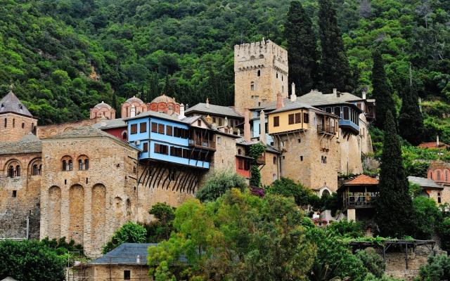 Monastery on Mount Athos.